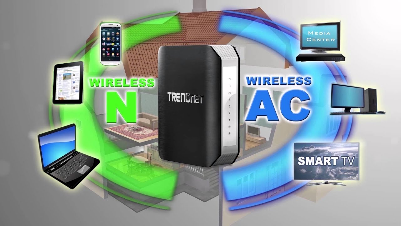 AC1750 Dual Band Wireless Router with StreamBoost™ Technology