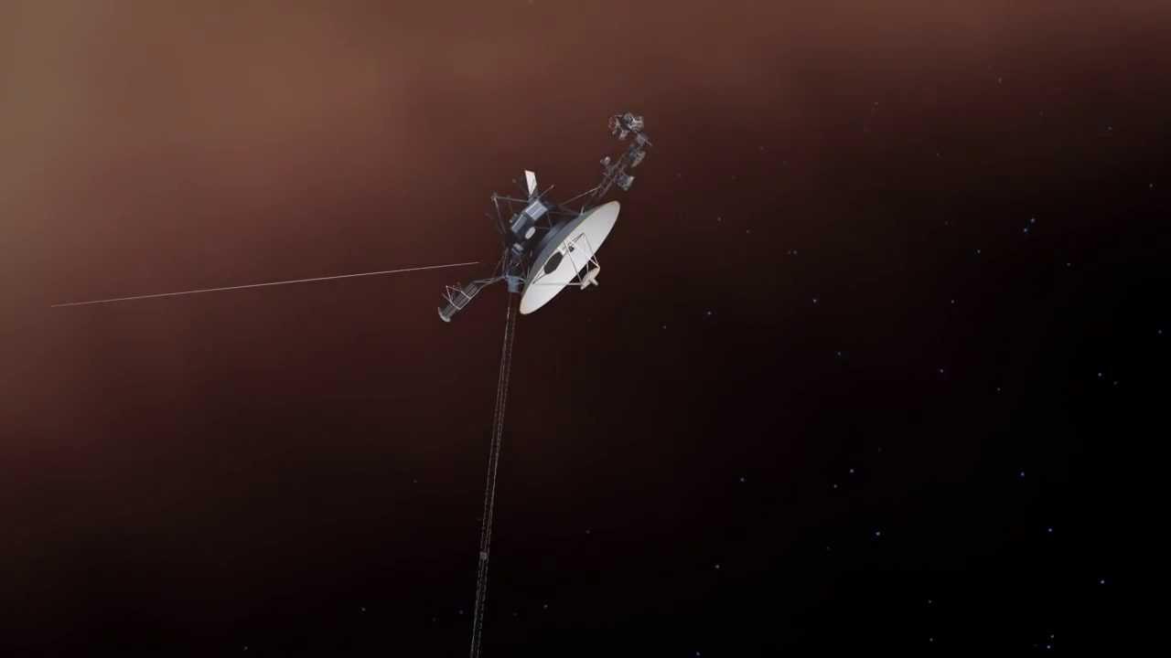 Voyager Reaches Interstellar Space - YouTube