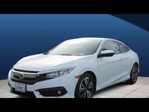 Certified 2017 Honda Civic Coupe Los Angeles San Fernando Valley, CA #H182054A
