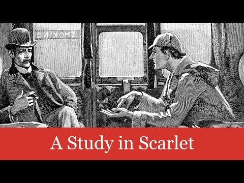 A Sherlock Holmes Novel: A Study in Scarlet Audiobook