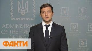 Владимир Зеленский обратился к украинским журналистам и Владимиру Путину