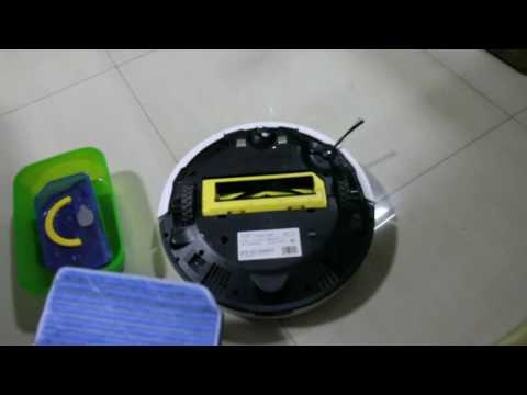Chuwi ILIFE V7S Mopping Demo