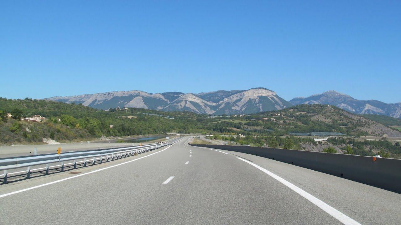 France: A51 Sisteron - Gap - YouTube