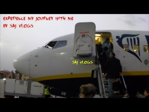 Experience my journey with me from Marrakech Morocco to London Luton airport with Ryanair