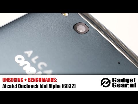 Unboxing + Benchmarks: Alcatel Onetouch Idol Alpha (6032)
