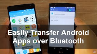 using es file explorer to transfer android apps over bluetooth