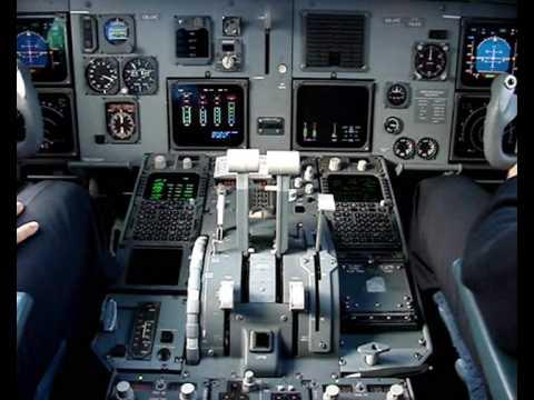Skopje-Vienna: Jumpseat in Fokker 100
