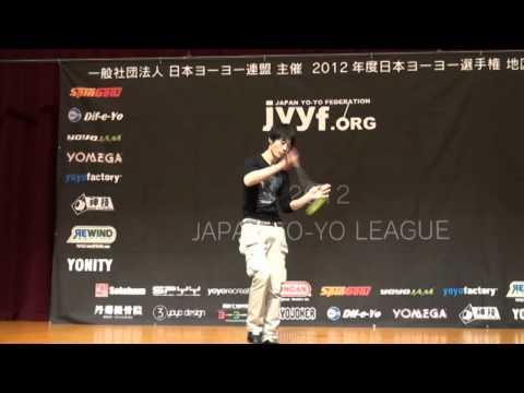 2012 Central Japan Yo-Yo Contest 2A Pre Takahiro Ishihama