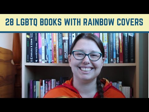 28 LGBTQ Books With Rainbow Covers