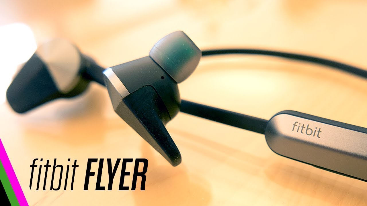 9b34bfd5fee fitbit Flyer REVIEW - Best Sounding Bluetooth Sport Headphones - YouTube