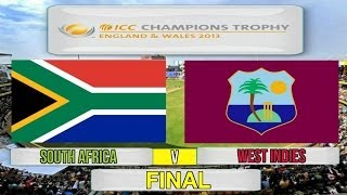 vuclip (Cricket Game) ICC Champions Trophy Final - South Africa v West Indies