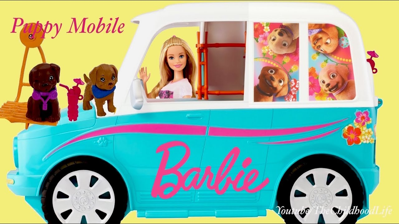barbie ultimate puppy mobile instructions
