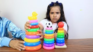 Learn Colors with Stacking Rings