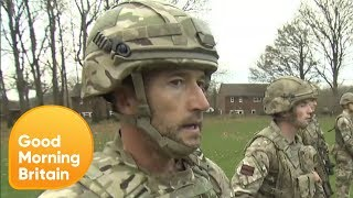 How Easy Is It to Pass an Army Fitness Test? | Good Morning Britain
