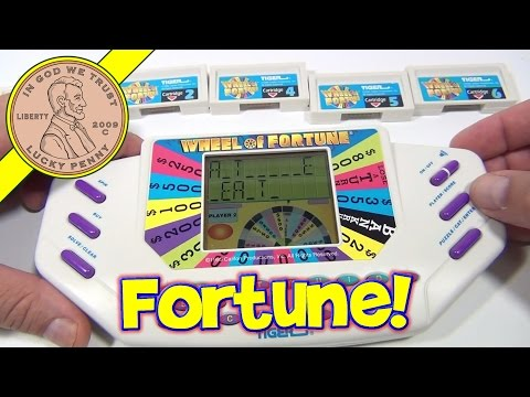 Wheel Of Fortune Handheld Electronic Game #7531, 1995 Tiger Electronics