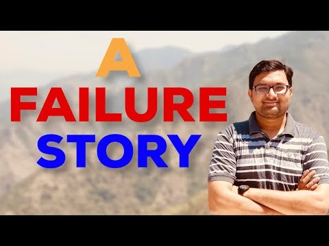 A FAILURE STORY | by Sagar Dodeja