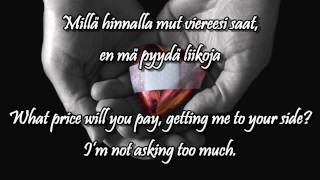 Vie mut kotiin w/lyrics (english, finnish) - Jesse Kaikuranta