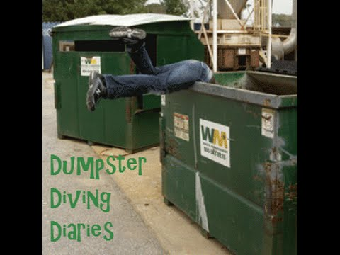 Dumpster Diving Diaries Episode 1 - YouTube