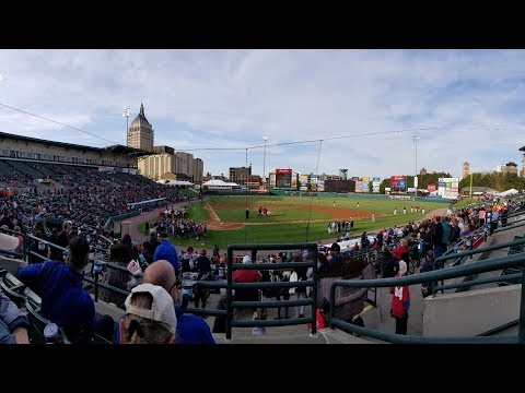 Rochester Redwings Vs. Pawtucket PawSox 5/18/18 Highlights (+ Frontier Field Stadium Tour)