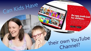 Finding out if Kids can have their own YouTube Channel  |   Easy PC Tuition