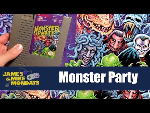 Monster Party (NES) James & Mike Mondays