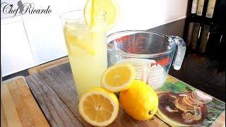 Perfect Lemonade Recipe | Simply Recipes | Recipes By Chef Ricardo