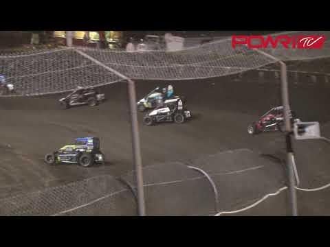 6/31/18 POWRi Midgets at Macon Speedway A-Main highlights