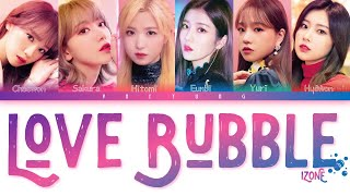 All rights administrated by off the record * artist: iz*one song: love bubble *album: vampire *released: 19/04/09, - hope you guys enjoyed this lyric video , if want, please subscribe, share ...