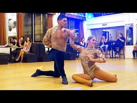 Karen Forcano and Ricardo Vega at the Granada LA (Los Angeles)