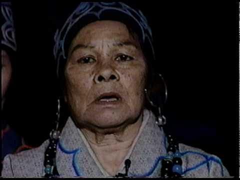 Elder Hikawa,Kiyo sings Ainu songs '93.dv