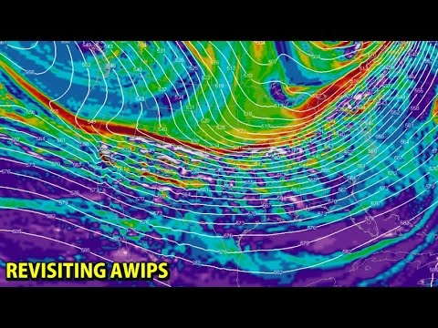 NIGHTLY WEATHER - Wednesday 1/4/2017 - Let's use AWIPS some more