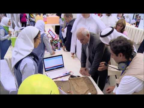 National robotics competition of Kuwait using E-Robot - 2015