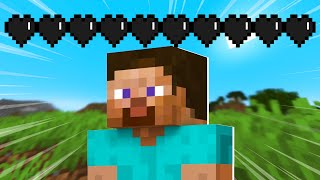 Minecraft, But I Have ZERO HEARTS...