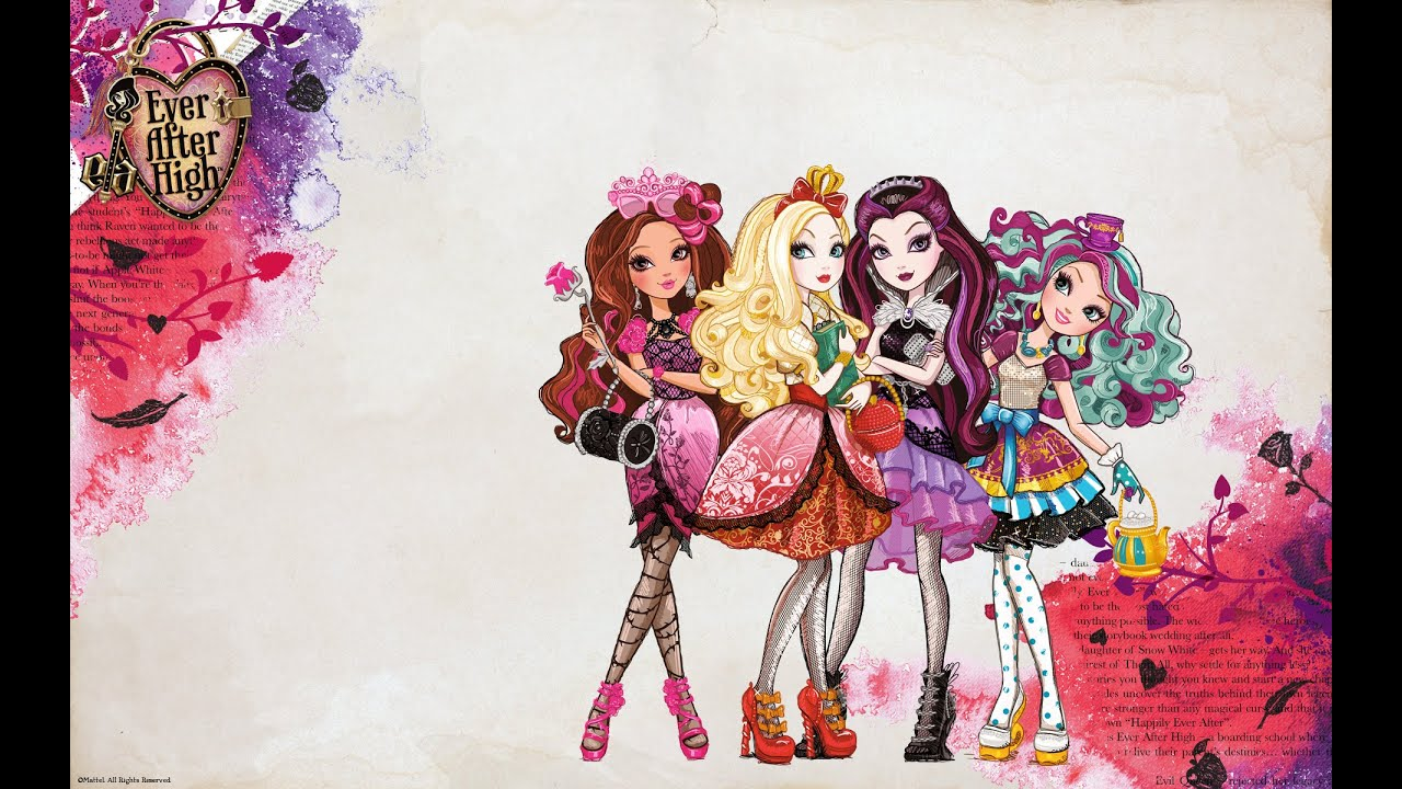 It is a graphic of Rare Ever After High Pictures