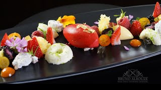 Red Fruit Fontaine Plated Dessert – Bruno Albouze – THE REAL DEAL