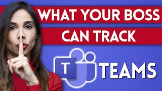 What Your Boss Can TRACK About YOU with Microsoft Teams screenshot 5