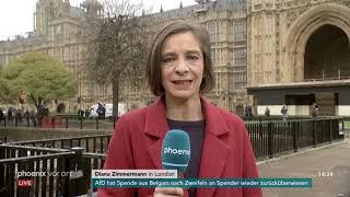 Diana Zimmermann zu einem möglichen Misstrauensvotum gegen Theresa May am 15.11.18