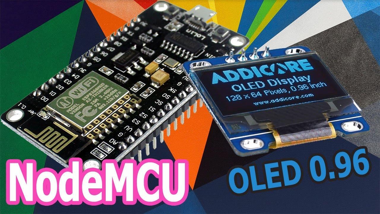 NodeMCU ESP8266 and OLED 0 96 Tutorial for Beginner