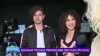 Bogdan Teches, asistentul lui Maruta la emisiune pentru o zi