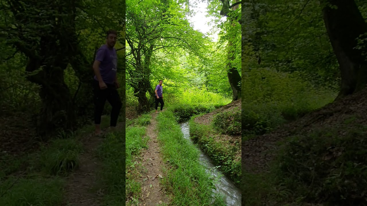 Spectacular places in iran Mazandaran amol ham safa روستای هم صفا - YouTube