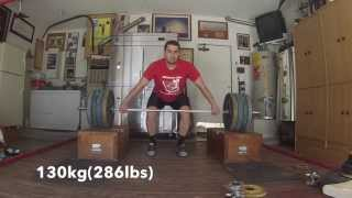 Snatch off blocks (full wrk)