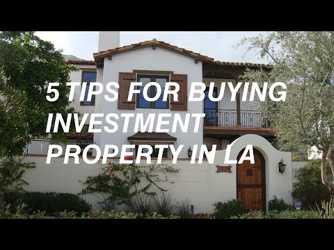 5 tips for buying investment property in LA