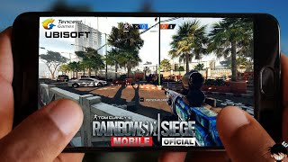 BOMBA! RAINBOW SIX SIEGE MOBILE OFICIAL PARA ANDROID