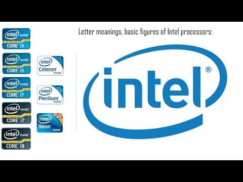 Intel Processor naming explained (K,T,X,i3,i5,i7,i9...)