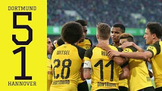 Borussia Dortmund vs Hannover 96 (5-1) | All goals and highlights