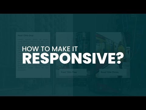 How To Make It Responsive | CSS Card Hover Effects | Html CSS Responsive Design thumbnail