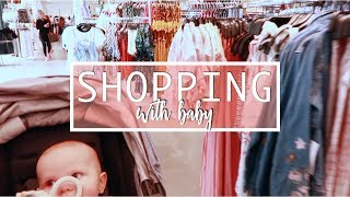 Shopping with Baby + F21 Clothing Haul