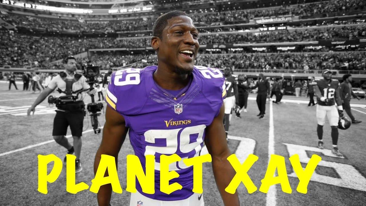 """Xavier Rhodes """"T Shirt"""" á´´á´° Minnesota Vikings Career"""