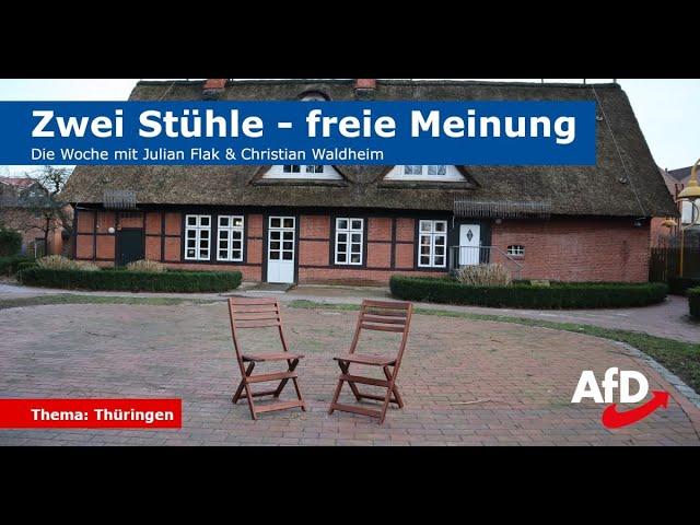 Zwei Stühle - freie Meinung (Folge 3): Thüringen - 16.02.2020