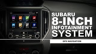 Subaru How-To Guide: 8-inch Infotainment System - GPS Navigation